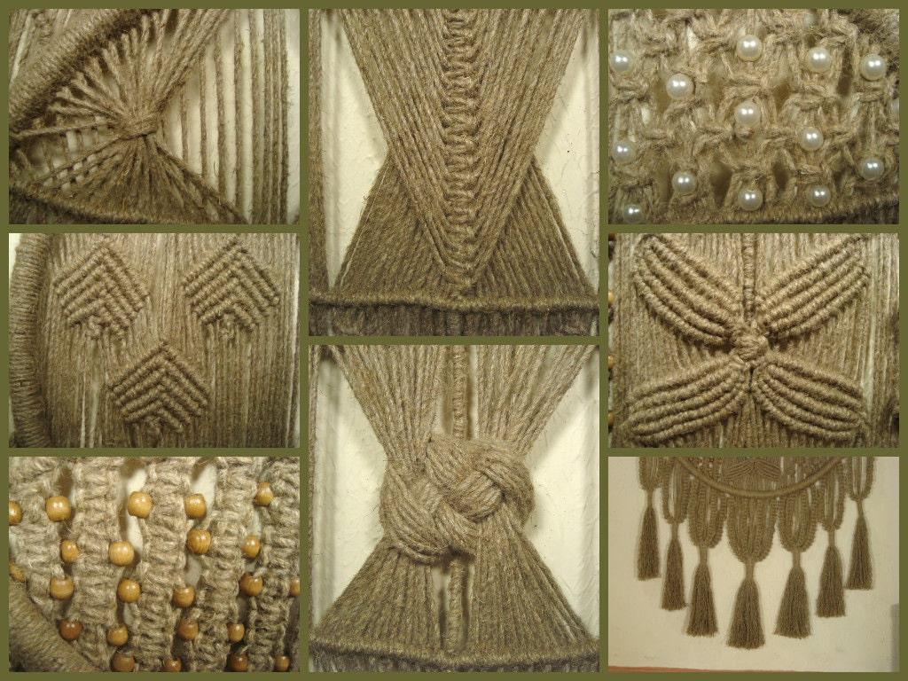 Macrame Wall Hanging Dreams Of The Artist Knotted