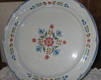 Platter, Heritage pattern,International China