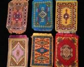 Vintage Tobacco Advertising Flannel Rugs