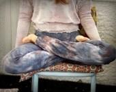 Yoga Pants Purple Crush Tie Dye