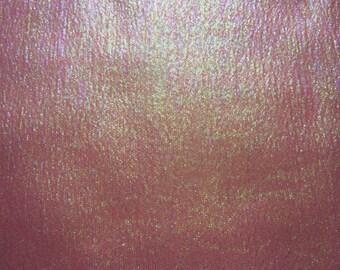 44 X 158 Irridescent Pink Poly Fabric Yardage