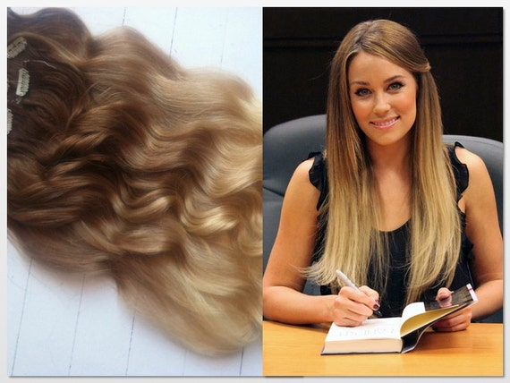 blonde ombre hair clip in hair extensions lauren by studioshe