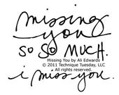 Technique Tuesday Missing You by Ali Edwards