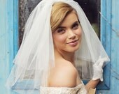 Nancy - 1950's Puff Veil