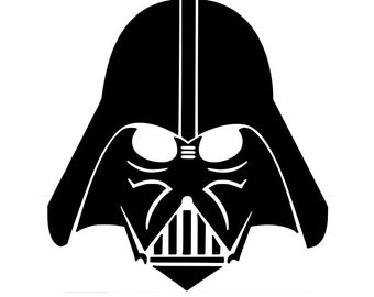 Darth Vadar Wall Decal - Star Wars wall decals