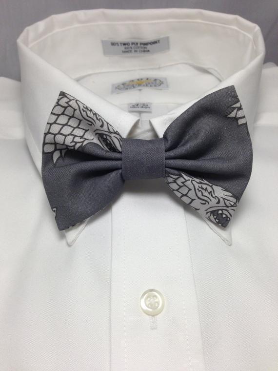 House Stark Bow Tie