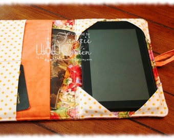 Book Style e-reader Cover, Kindle cover, KOBO cover, Nook cover, iPad cover
