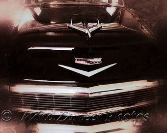 56 Chevy - Classic Car Photo - Man Cave Art - Retro - Grunge- Office Decor - Gifts for Guys - Gifts for Men - Fine Art Photo  - Americana