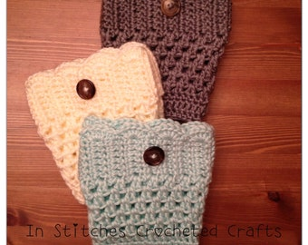The Cute Crochet Boot Cuffs