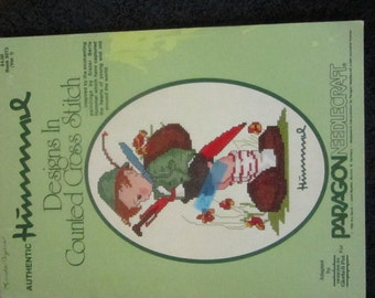 Authentic HUmmel Designs in Counted Cross Stitch Vol 1