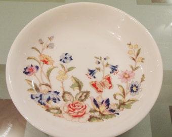 "Vintage Aynsley ""Cottage Garden"" Trinket Pin Dish - Made in England"