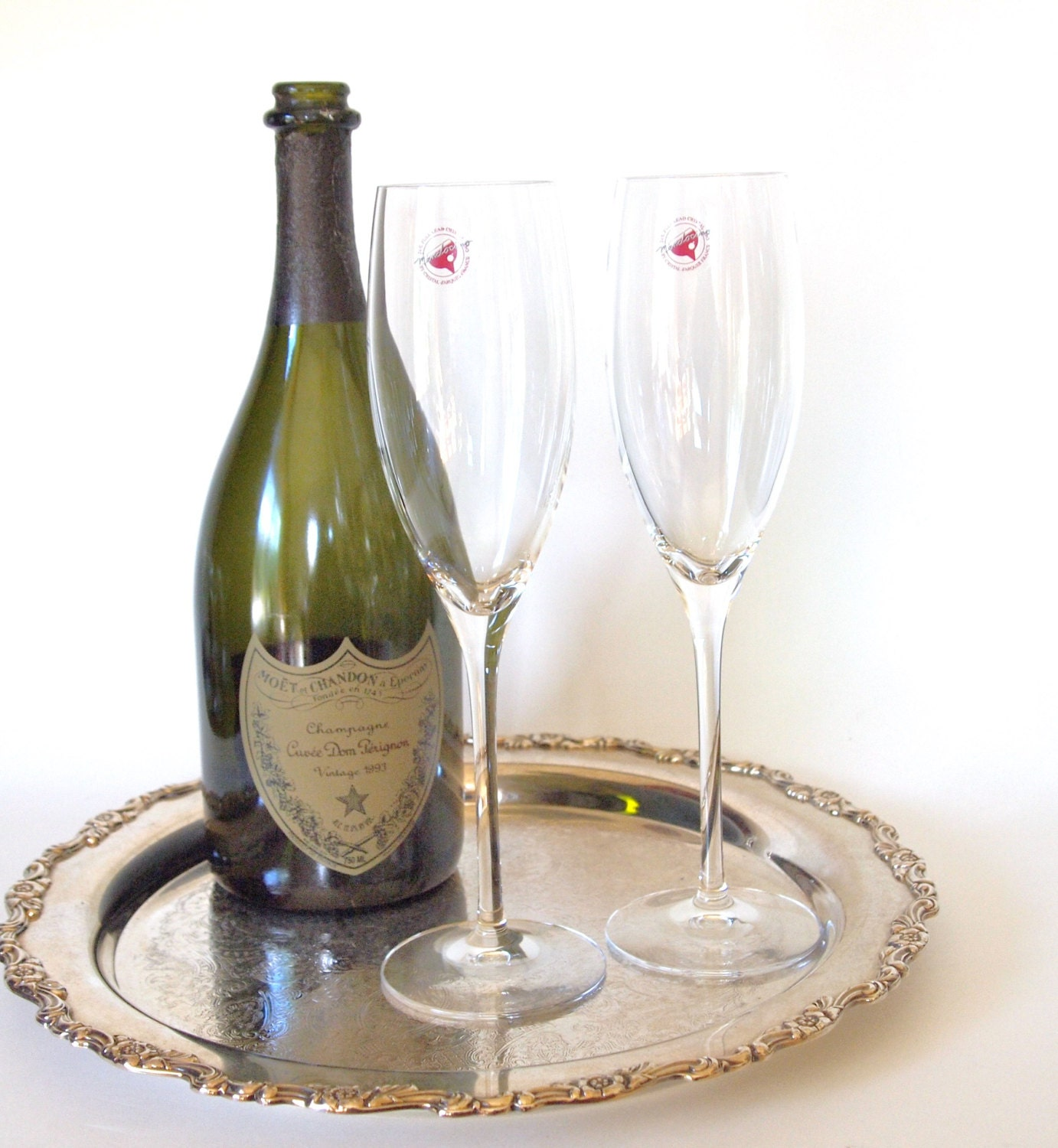 crystal champagne flutes made in france cristal d 39 arques. Black Bedroom Furniture Sets. Home Design Ideas
