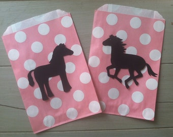 12 Horse Cowboy or Cowgirl Equestrian Chalkboard Sticker Labels