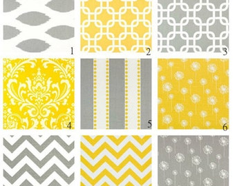 Table Runner Party Table Runner Gray or Yellow  Wedding Runner Home Decor Pick Your Size  Home Decor