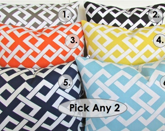 Popular items for outdoor pillow set on Etsy