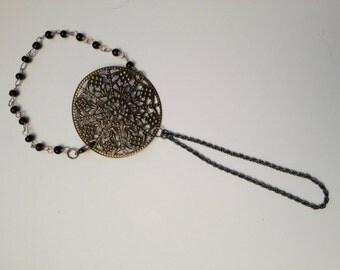 Steampunk Finger Bracelet