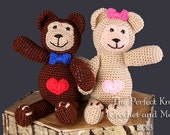 PDF Crochet Pattern File - Love'Ems Teddy Bears Amigurumi Pattern