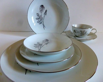 Royal Jackson China service for 12 c 1950s