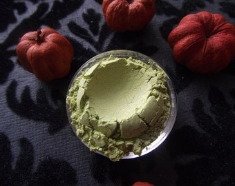Zombie - Shimmer Lime Bright Green Eyeshadow Organic Vegan