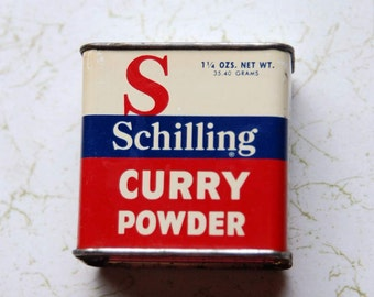 Schilling Curry Tin