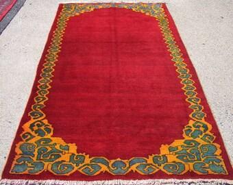 Persian Rug - 1970s Vintage Southern Iranian Persian Rug (2832)