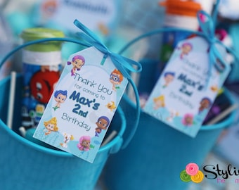 Bubble Guppies Gift Tags