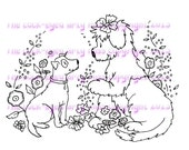 A digital stamp/image instant download.... Happy friends!