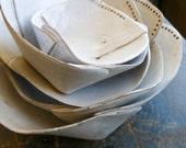 Five nesting bowls