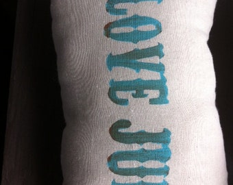 Love Junk Pillow