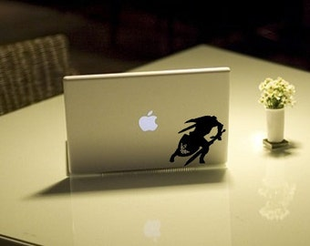 Zelda Link 4- Anime Decal for Macbook, Laptop, iPad, iPhone, Car, Windows, Wall, Nintendo 3ds, XBox, Playstation etc