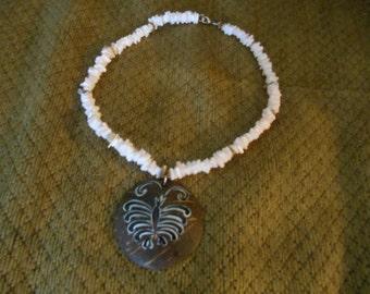 Sea Creature Shell Necklace