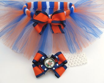 University of Florida Gators Tutu, Florida Gators Outfit, Florida Gators Headband, University of Florida Outfit, Gators Tutu