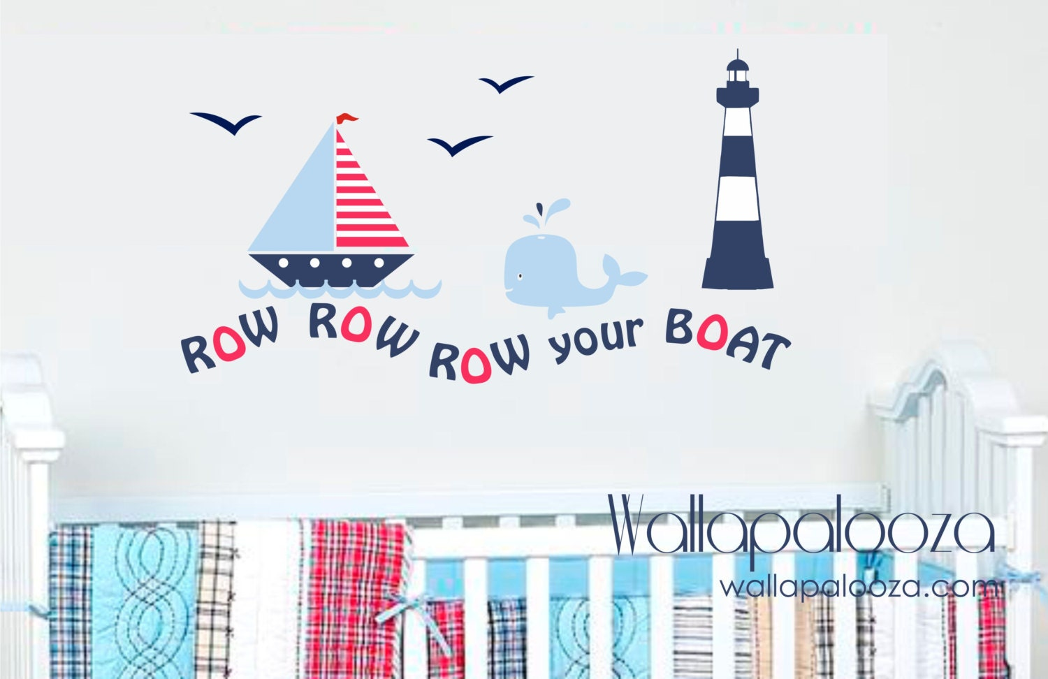 28 nautical wall stickers anchor with birds wall decal nautical wall stickers nautical wall decal row your boat wall decal set sailing