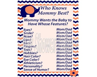shower game circus baby shower game who knows mommy best printable