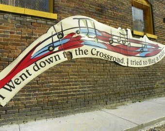 I Went Down to the Crossroads, Fine Art Photography, Music Inspired Photography, Color Photography