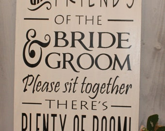 table plan bride and groom