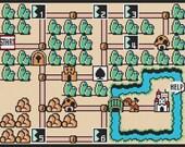 Super Mario Bros. 3 World 1 Map Cross Stitch Pattern (PDF)
