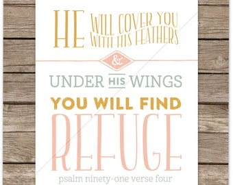 Under His Wings (Psalm 91:4)