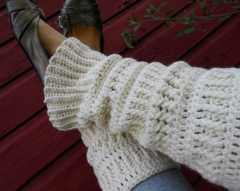 Crocheted Leg Warmers Pattern - Leg Warmer Pattern - Crochet Pattern