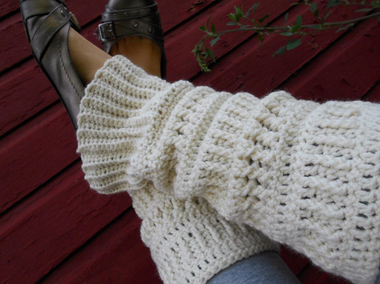 Crocheted Leg Warmers Pattern Leg Warmer Pattern Crochet