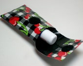 Duct Tape Lip Balm Cosy Keychain USB Flash Drive Case