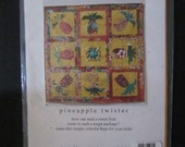 Pineapple Twister Quilt Pattern