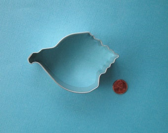 Conch Shell Cookie Cutter - Shell Cookie Cutter- Sea Shell Cookie Cutter - Seashell Cookie Cutter