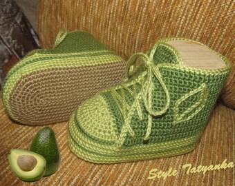 Crochet booties pattern - HK12