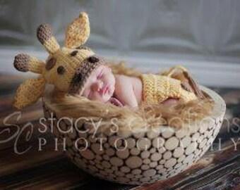 Crochet Giraffe Set