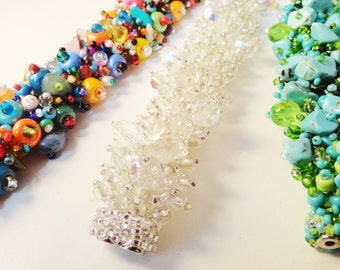 Beaded Bracelets available in 3 colors -  BS008