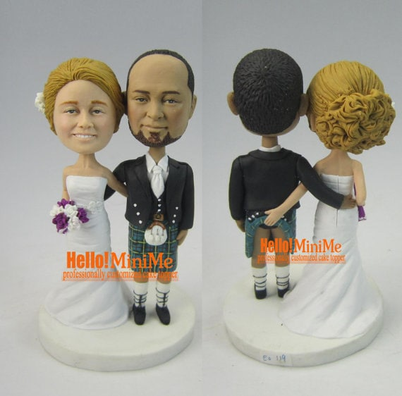 custom cake topper wedding cake topper bobblehead custom cake. Black Bedroom Furniture Sets. Home Design Ideas