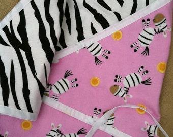 Happy Zebras Kimono Baby Swaddle