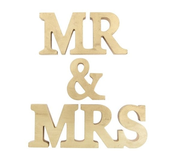 when letters stand for words mr and mrs stand up wooden letters mr mrs by 25624 | il 570xN.485580909 mca6