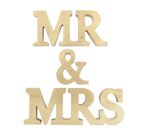 mr and mrs stand up wooden letters mr mrs by With mr mrs wooden letters